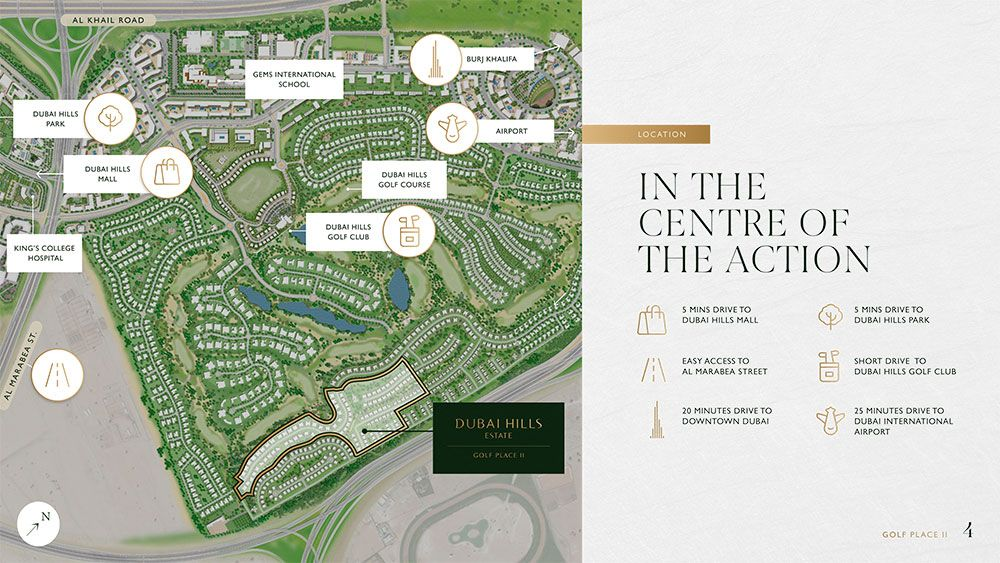Golf Place Phase II location