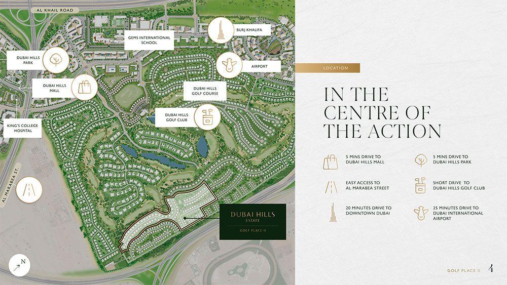 Golf Place Terraces location