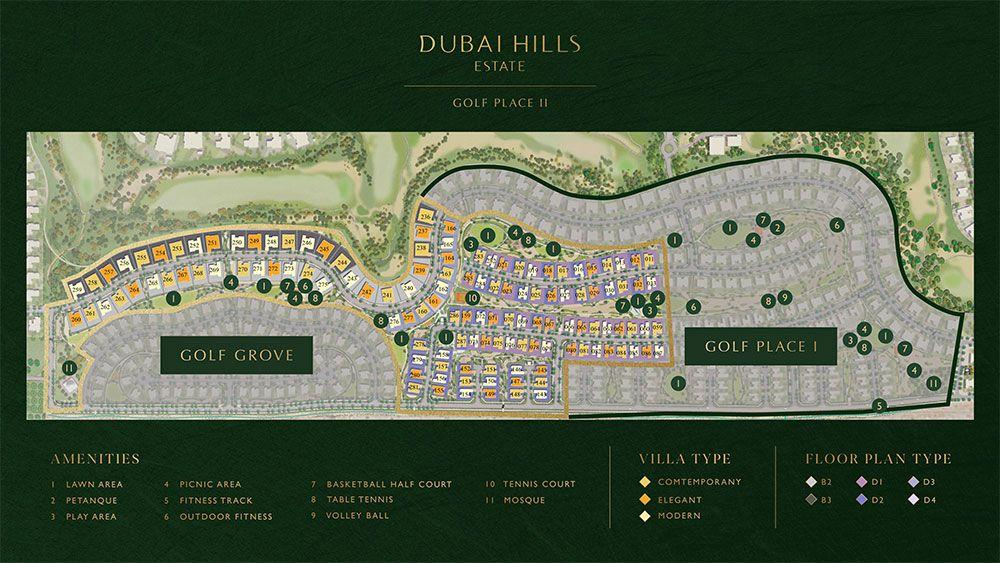 Golf Place Terraces Masterplan